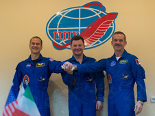 New Expedition 34 Crew Members Ready for Launch