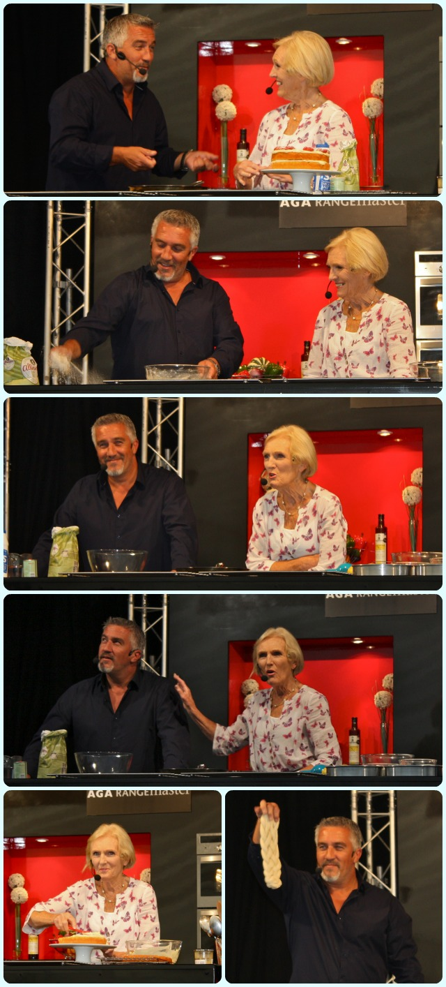 Paul Hollywood and Mary Berry at Bolton Food and Drink Festival