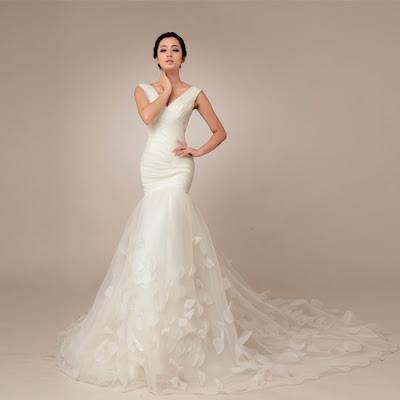 Áo Dài Cưới Đẹp Dạng Váy