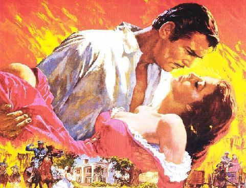 Most Famous Immortal Love Stories In History And Literature Scarlett O'Hara and Rhett Butler