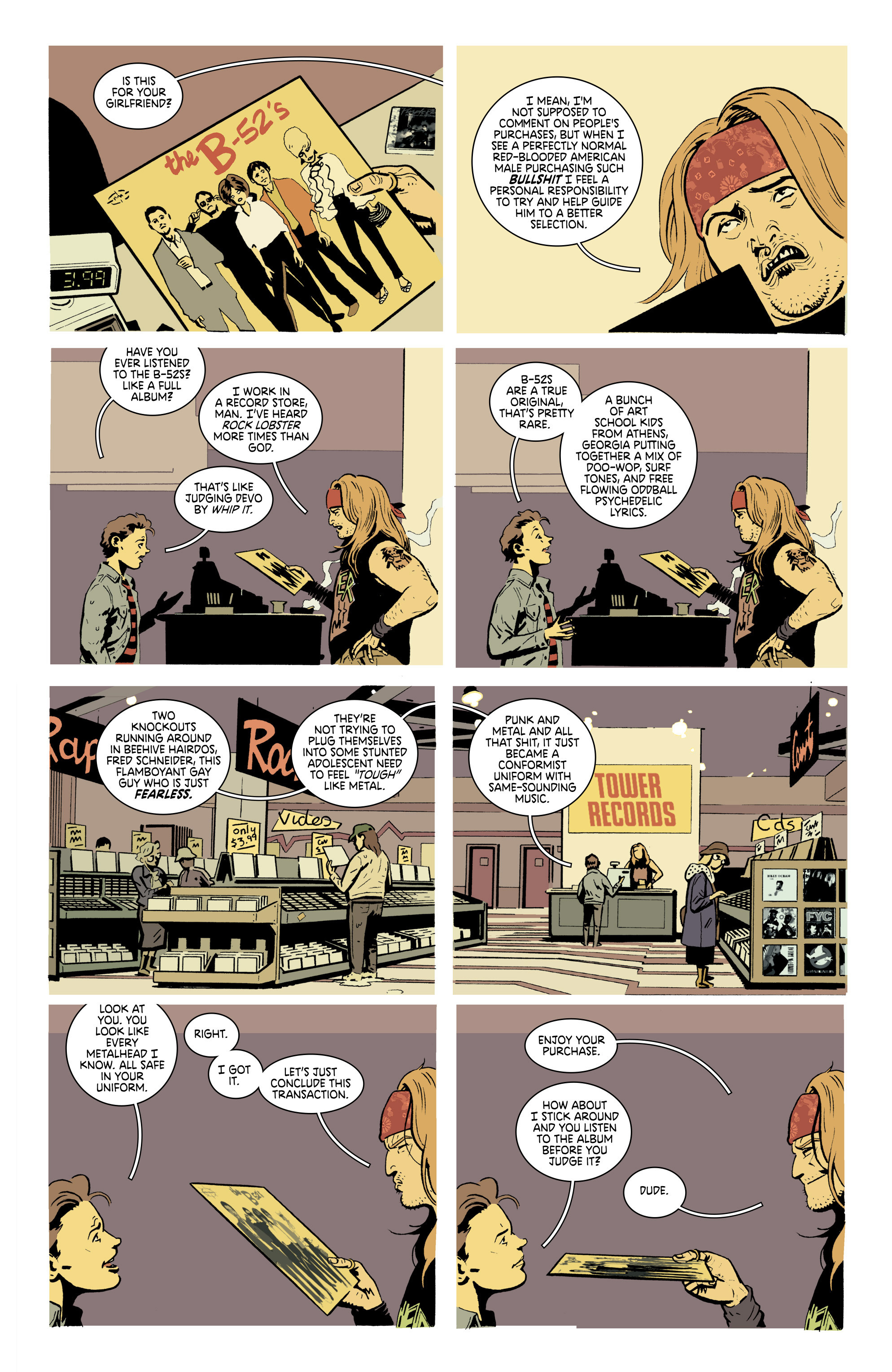 Read online Deadly Class comic -  Issue #19 - 3