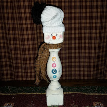 SPINDLE SNOWMAN