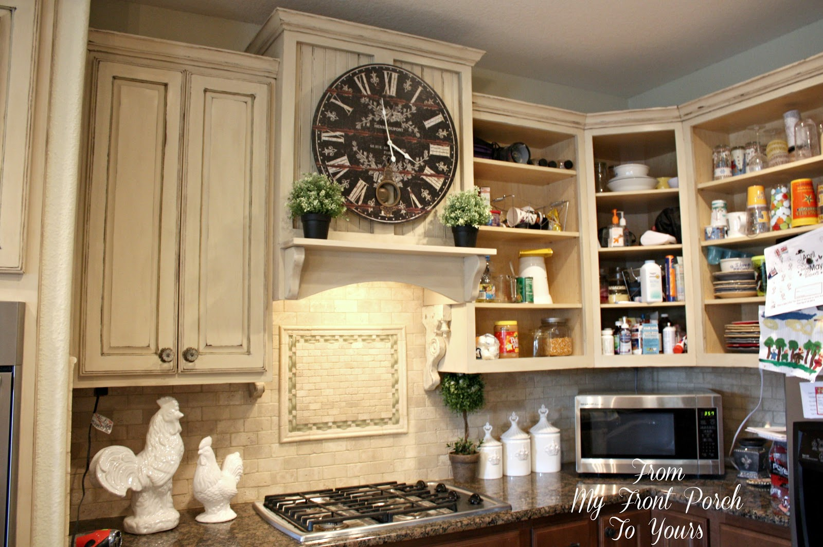 from my front porch to yours kitchen update 4 labeling. Black Bedroom Furniture Sets. Home Design Ideas