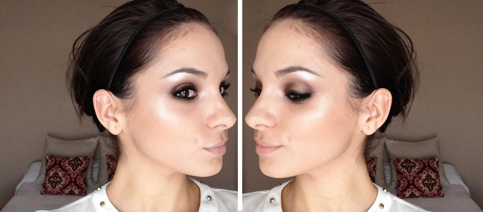 Maquillaje bronce low cost paleta sleek storm