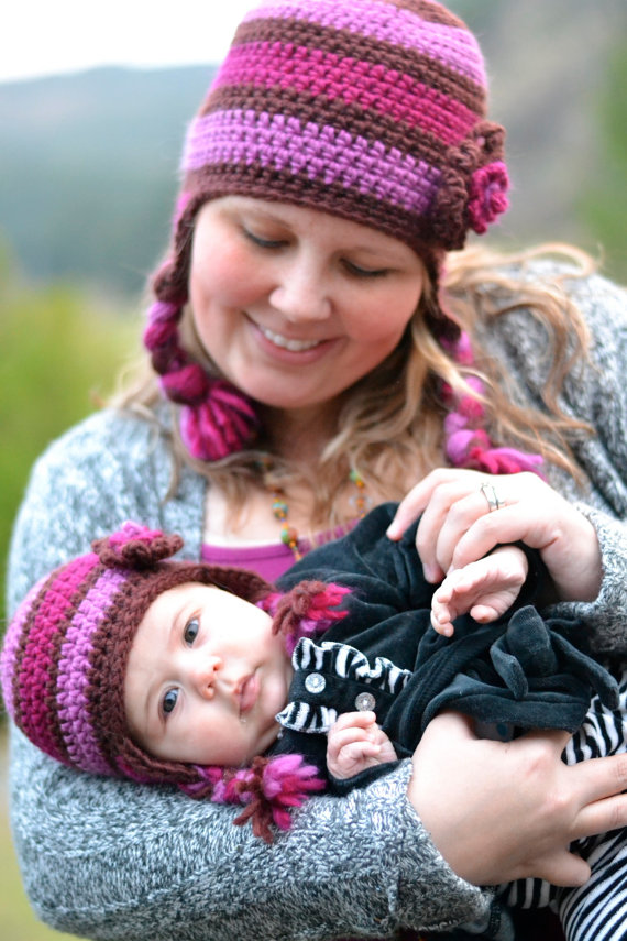 Mãe e filha!!! - Ateliê do Crochê 714f67d65aa