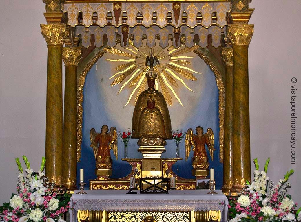 Virgen del Puy Virgen de Mallén Aragon