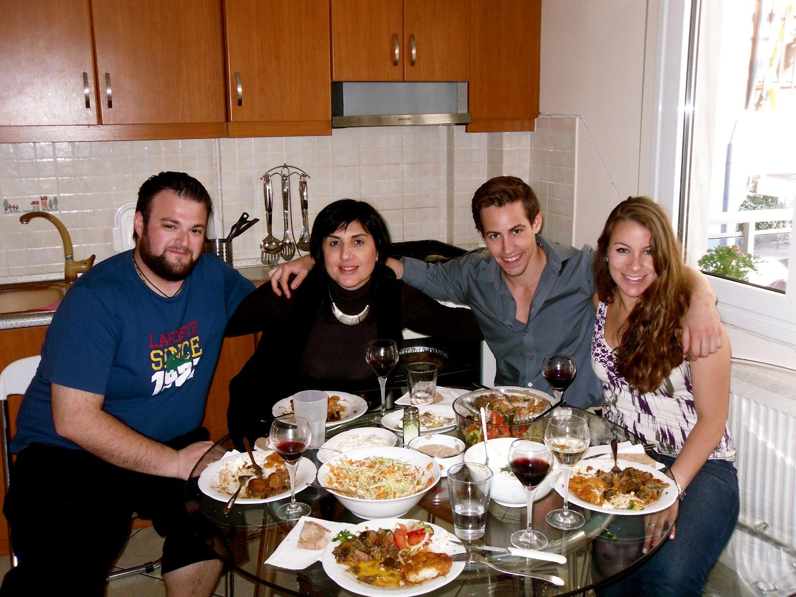 To Travel Explore Love The World Host Family Dinner