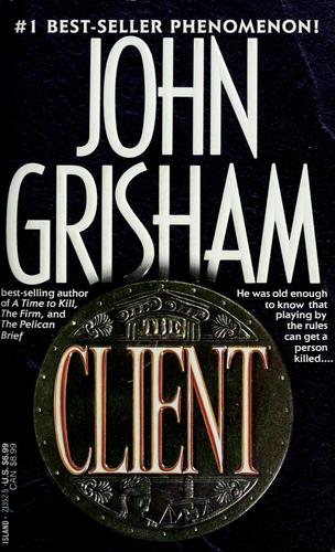 a review of the book the client by john grisham This is the book review: the litigators by john grisham in both chronological order and publication order list verified daily and newest books added immediately.