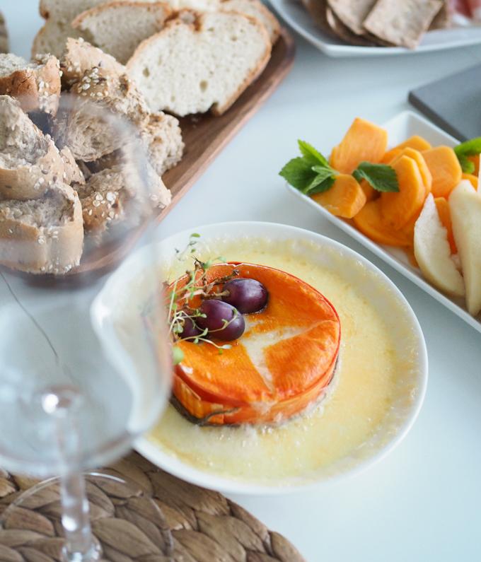 pientä suolaista illan istujaisiin, helppo ja näyttävä kaunis herkku juustosta