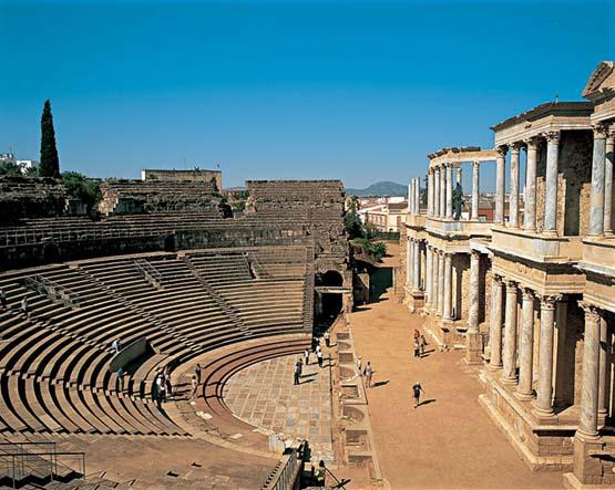 Boda Teatro Romano Merida : A histÓria da arte romana point
