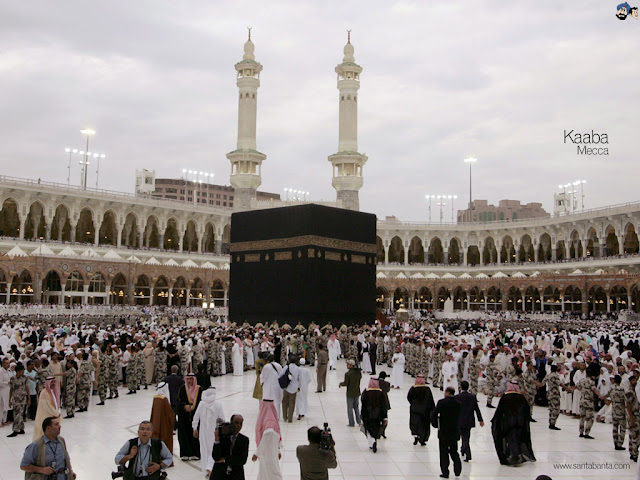 Close look of Kaaba Makkah Wallpapers