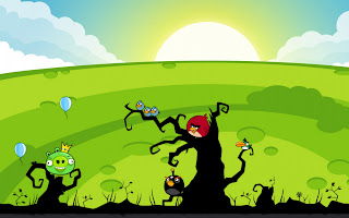 Angry Birds Wallpaper PowerPoint Background-10