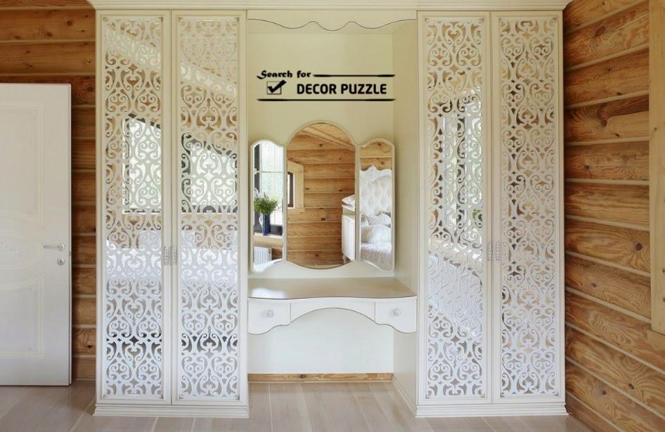 Modern Dressing Tables Built In Bedroom Wardrobe