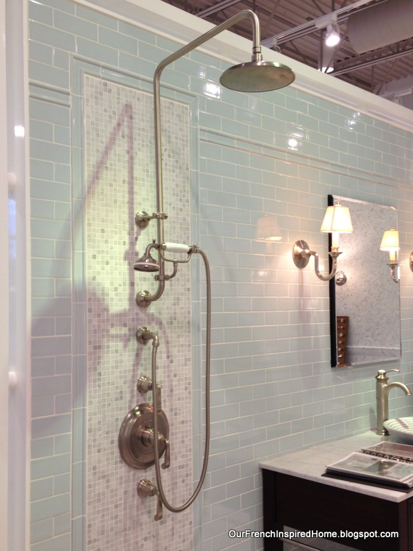 Kohler Shower : ... this Kohler shower fixture, complete with separate hand shower