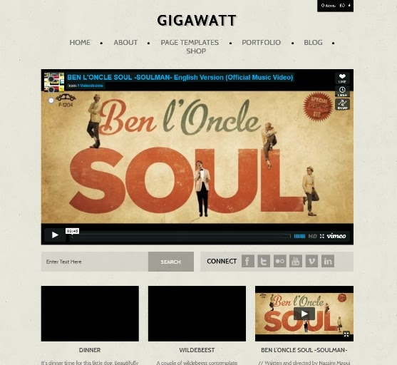 Gigawatt - WordPress Theme for Video