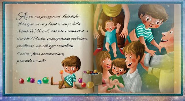 Ebook Infantil com história de Natal Brasileira