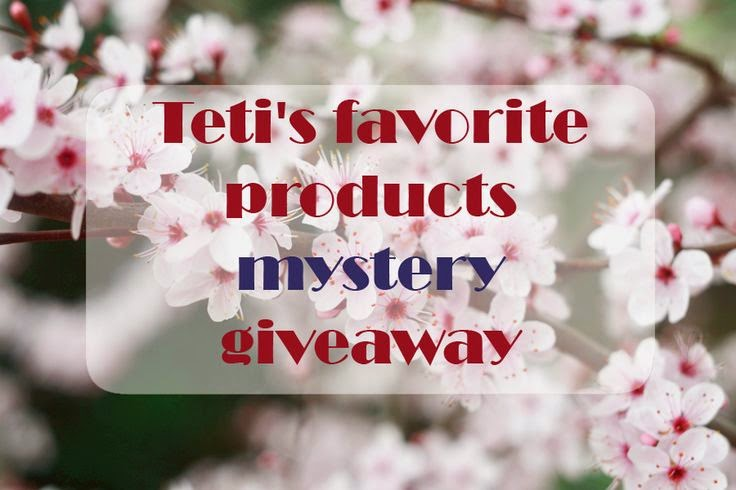 Teti favourite products mystery giveaway