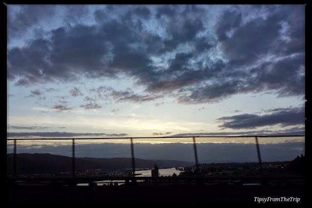 Sunset, Columbia River