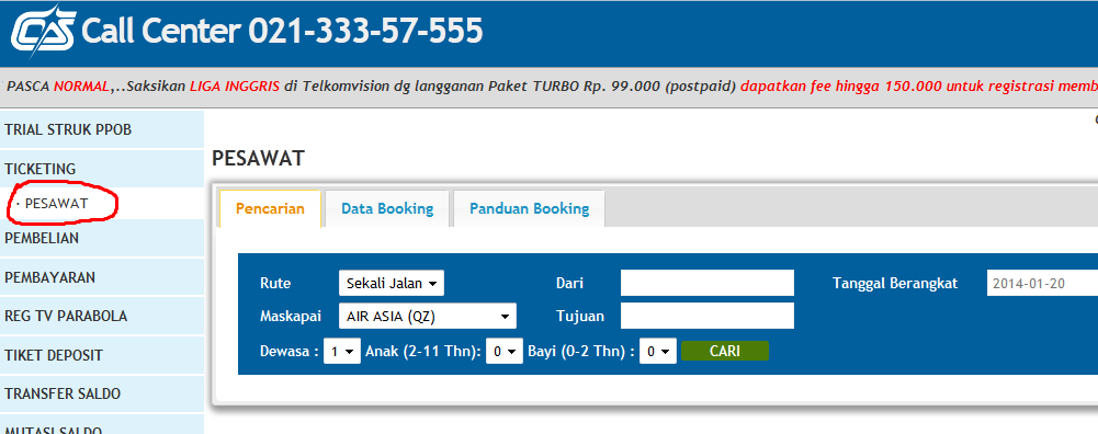 Tiket Pesawat Termurah Chip Sakti Pulsa Payment PPOB