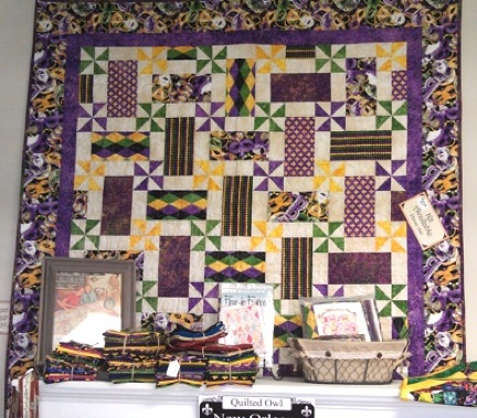 Quilting on the Crescent: Fabric in the Crescent: The Quilted Owl : quilt shops in new orleans - Adamdwight.com