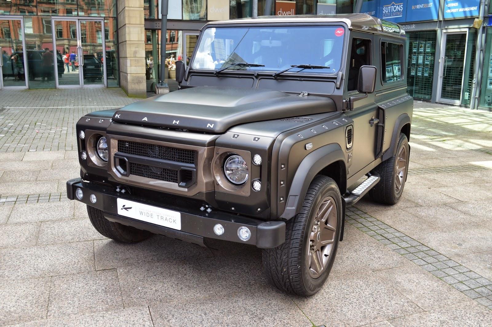 Dream Car Spotter: Land Rover Defender Kahn 2014