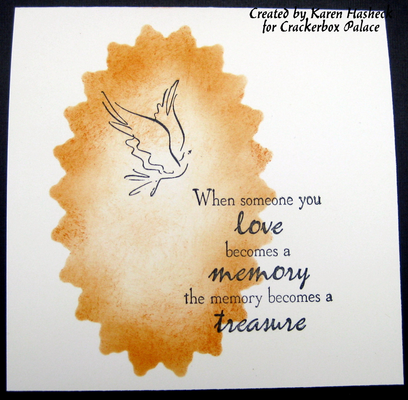crackerbox palace rubber stamp blog sympathy cards and