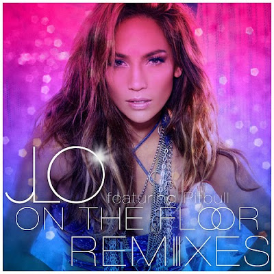 jennifer lopez on the floor album artwork. album cover jennifer lopez