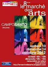ORLÉANS : CAPTON AU 8ème MARCHÉ DES ARTS DU CAMPO SANTO, 13 ET 14 OCTOBRE 2012