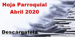 Hoja Parroquial Abril 2020