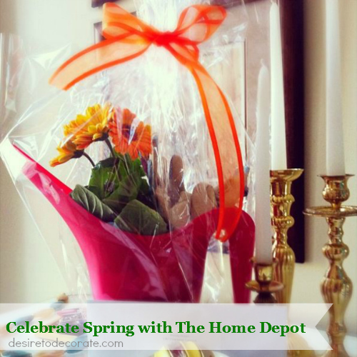 Celebrate Spring with The Home Depot via desiretodecorate.com