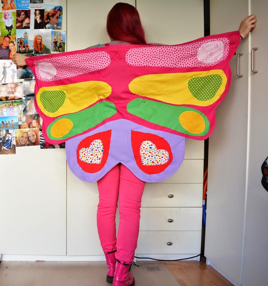 [Nähen] Ich bin ein Schmetterling!