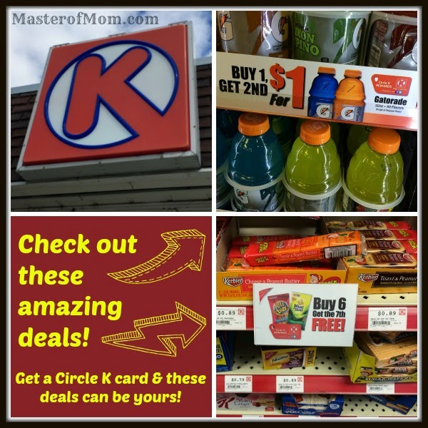 Great deals at Circle K!
