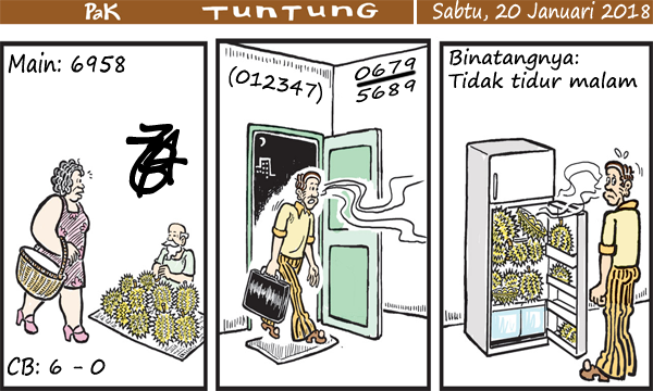 Prediksi Gambar Pak Tuntung Sabtu 20 01 2018