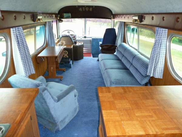 Used Rvs 1960 Gm Conversion Bus Rv For Sale By Owner