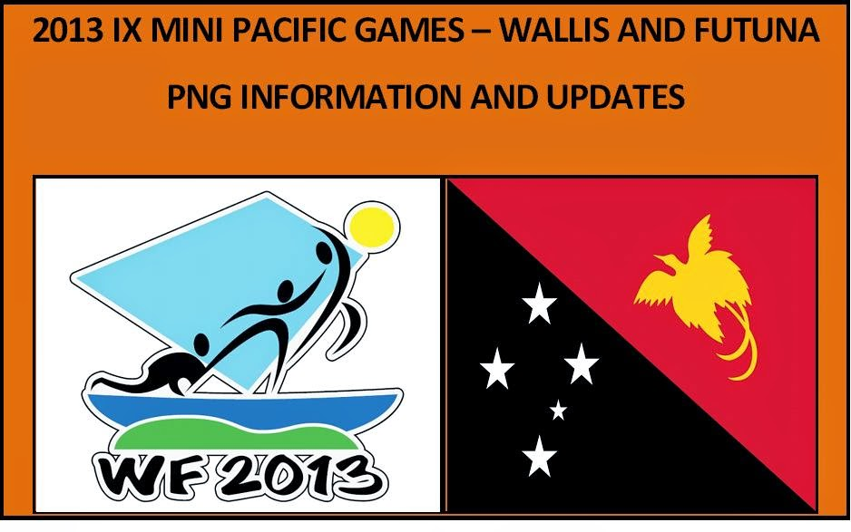 2013 IX MINI PACIFIC GAMES (WALLIS AND FUTUNA) - INFORMATION
