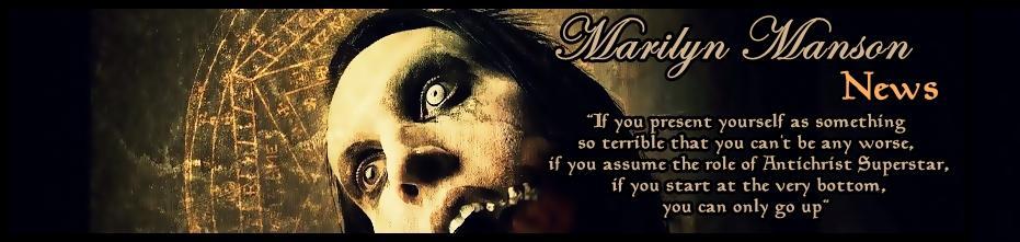 Marilyn Manson news