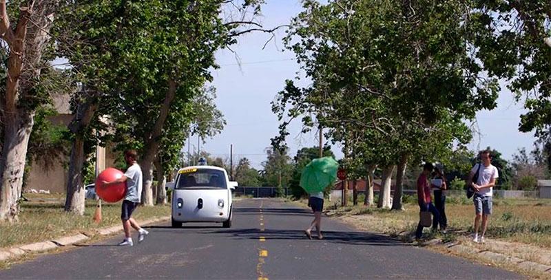 coche autónomo de Google aprobado para circular