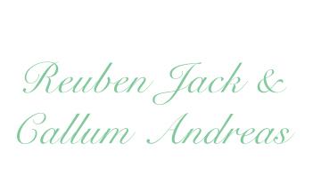 Reuben Jack & Callum Andreas