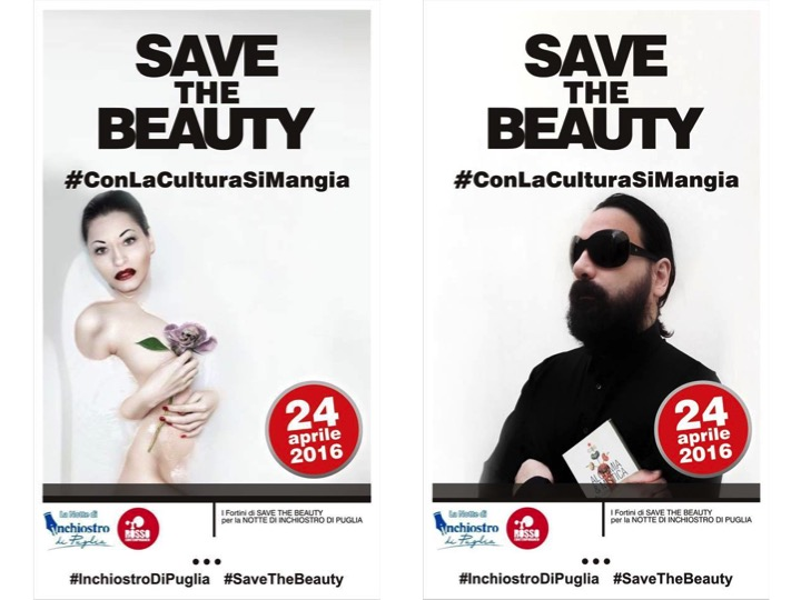 "Infinity Agency per ""SAVE THE BEAUTY"""
