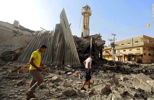Israel Serang Masjid dan rumah Orang Kurang Upaya serta Keajaiban yang berlaku