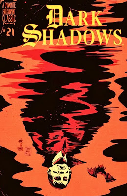 Cover of Dark Shadows #21 by Francesco Francavilla from Dynamite Entertainment
