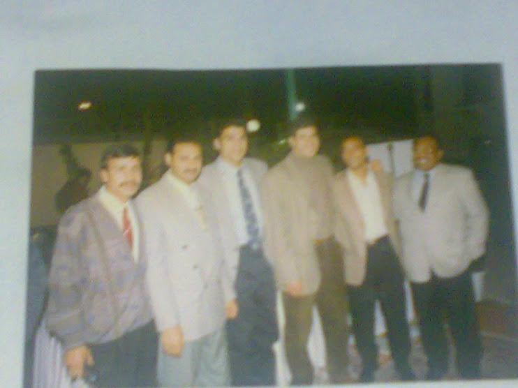 مع الكابتن أحمد شوبير وياسر ريان ومحمد يوسف