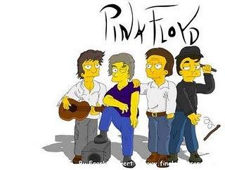 Pink Floyd desenho simpsons