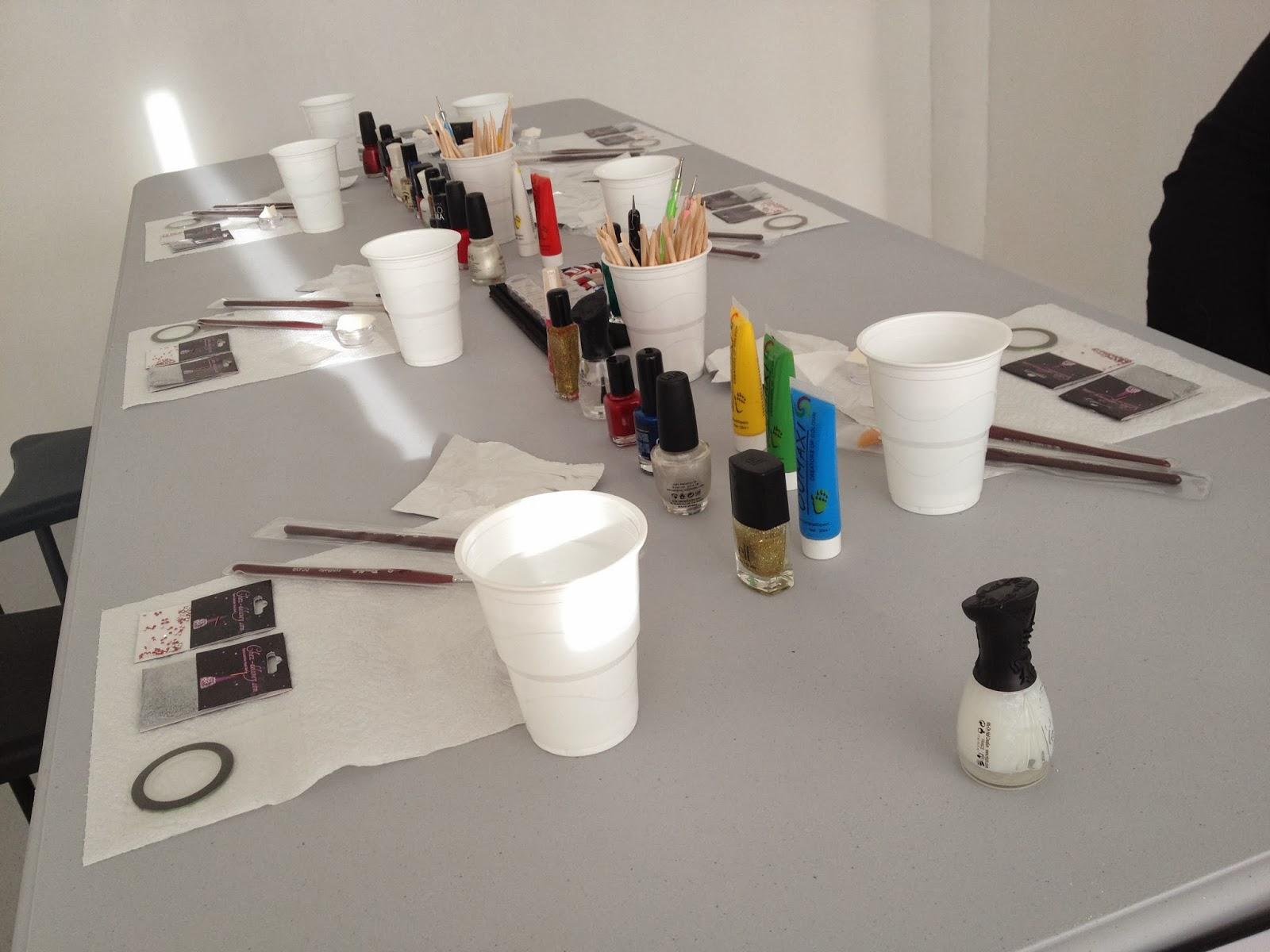 Ateliers nail art Décembre et Janvier1