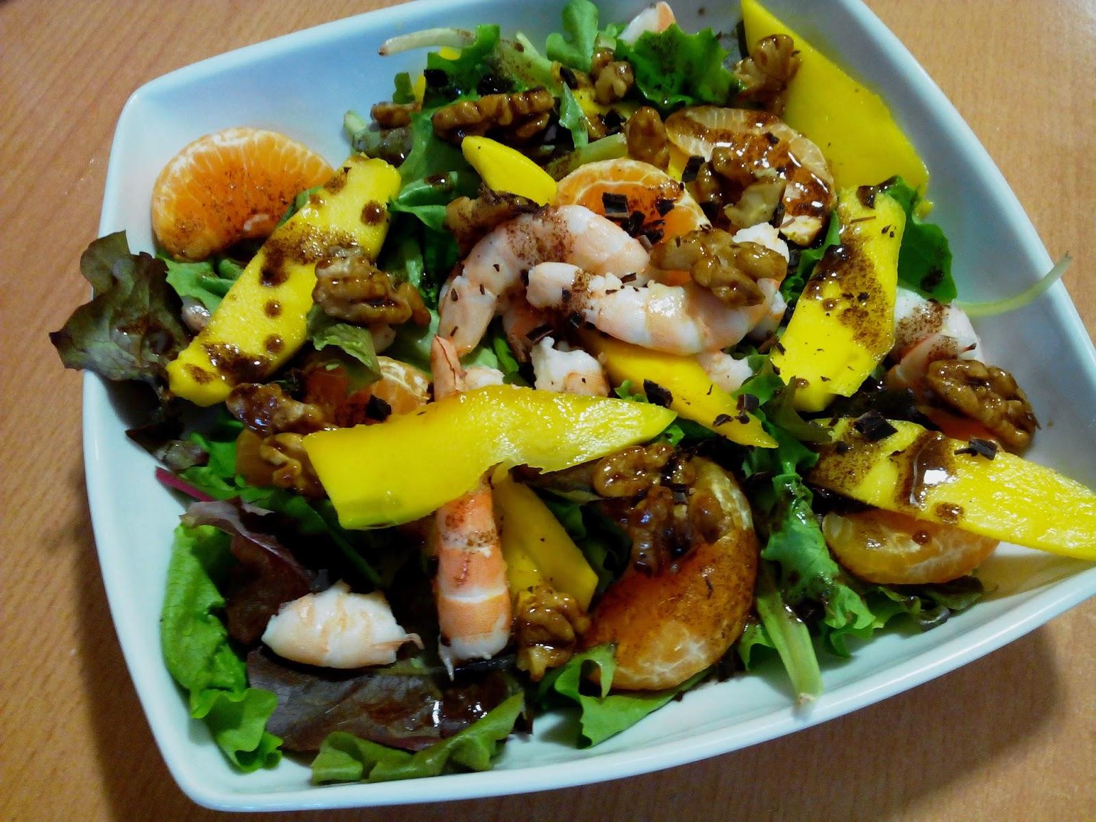 Ensalada con mango cocinar en casa es for Cocinar con mango