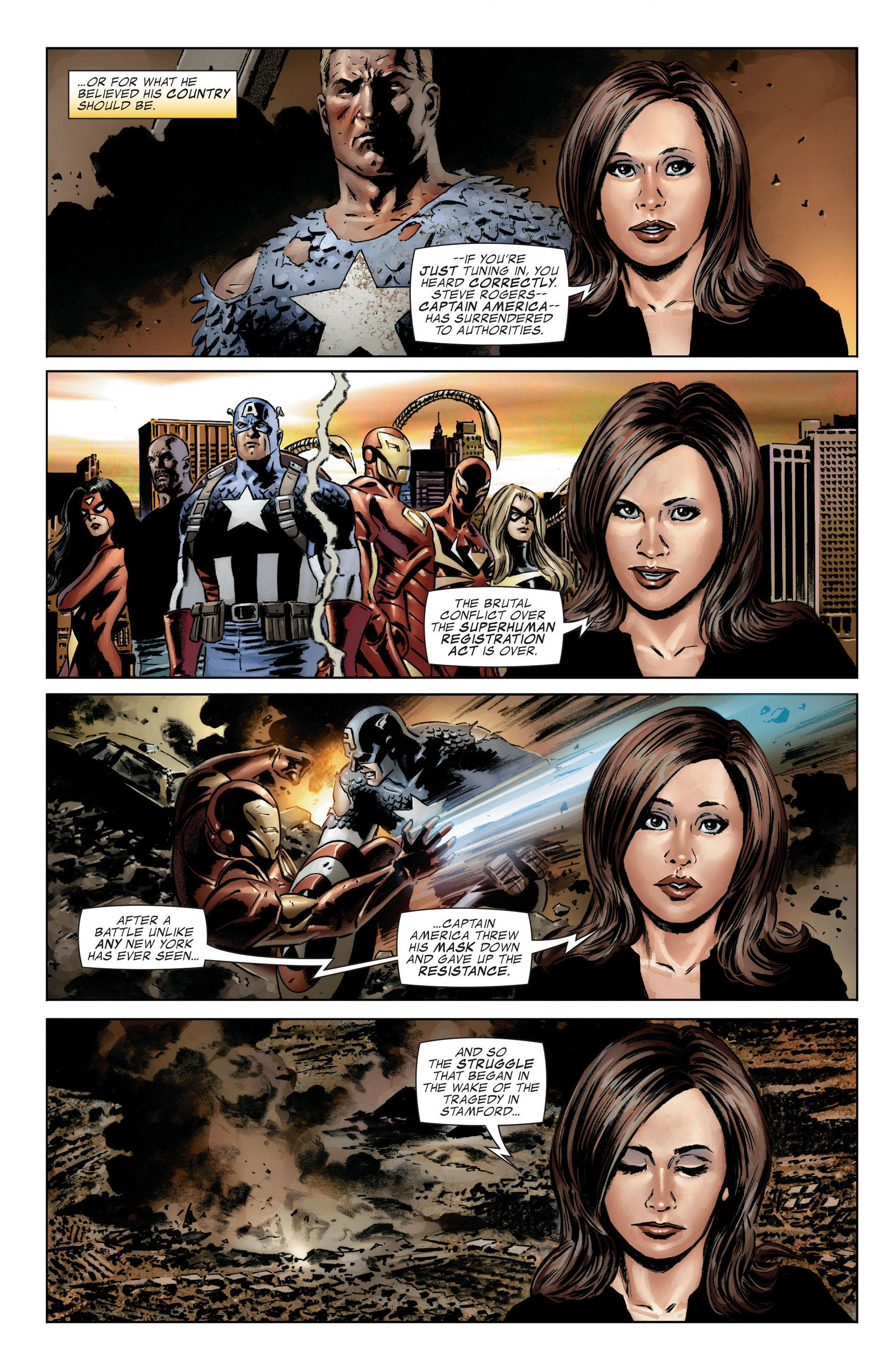Captain America (2005) Issue #25 #25 - English 6