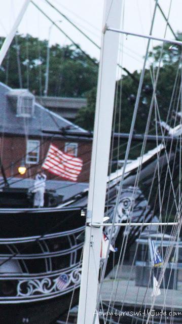 Sunset Taps, USS Constitution, Boston, MA