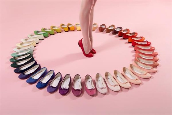 Rainbow Repetto circle, the way you see it in the stores