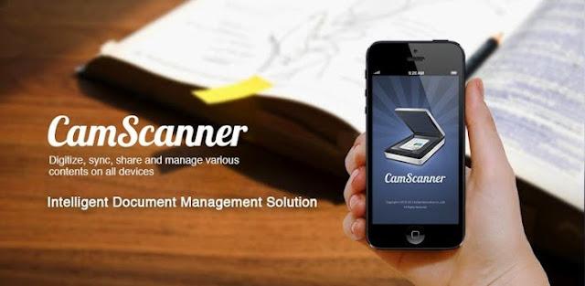 Aplikasi Android Cam Scaner Memudahkan Pekerjaan Anda