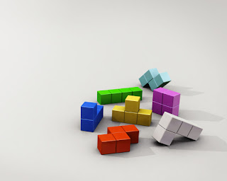 Tetris 3D Wallpaper